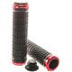 ACROS R1 Bike Grips red/black